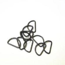 Metal  'D' Rings in 2 colours